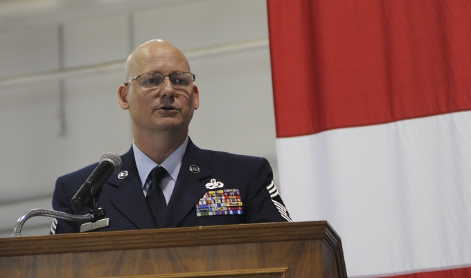 442nd AMXS Chief Promotion