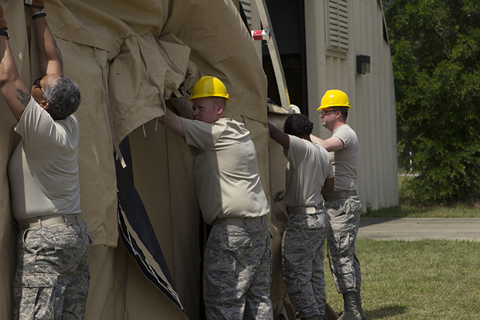 442 LRS, FSS team up for training deployment