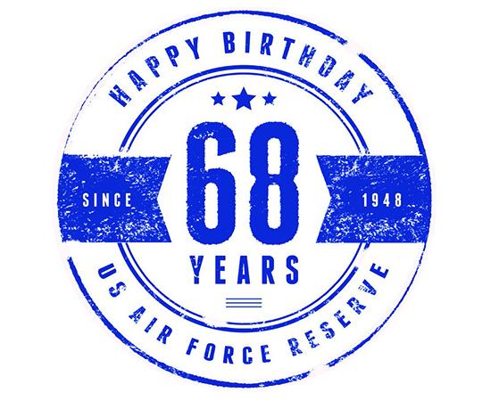 Air Force Reserve 68th Birthday Celebration