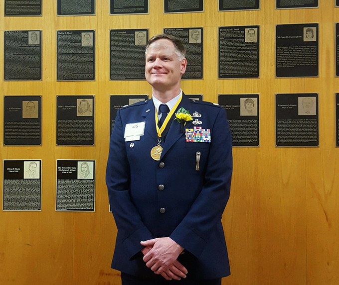 Lee's Summit High School inducts 442d Fighter Wing member into hall of fame